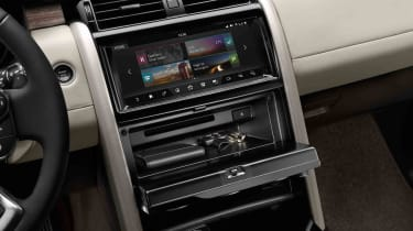As well as a storage space within the dash itself