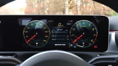 Mercedes-AMG A 35 Saloon digital instruments