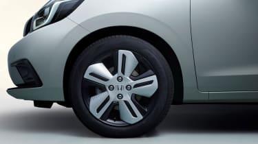 2020 Honda Jazz hybrid - front quarter view