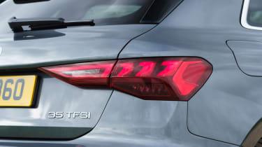 Audi A3 Sportback hatchback rear lights
