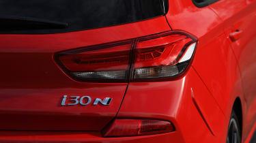 Hyundai i30 N rear lights