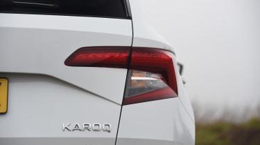Skoda Karoq SUV rear lights