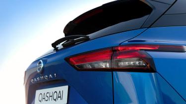 New Nissan Qashqai tail-light