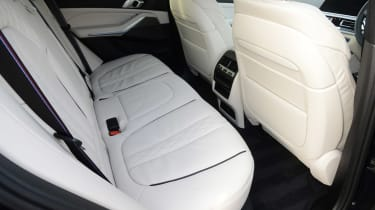 BMW X5 xDrive45e SUV rear seats