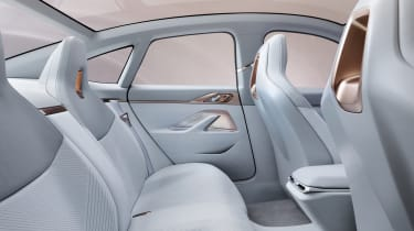 2021 BMW Concept i4 - rear seating view