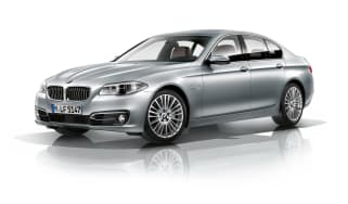 BMW 5 Series 2013 saloon front quarter
