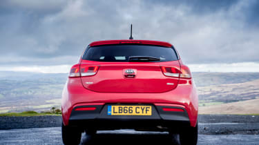 The Rio adopts Kia's latest styling cues, as seen on models including the popular Kia Sportage SUV
