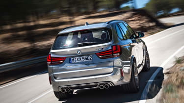 Despite its performance, the BMW X5 M is almost as practical as the regular version