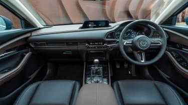 Mazda CX-30 SUV dashboard
