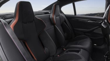 2021 BMW M5 CS - rear seats