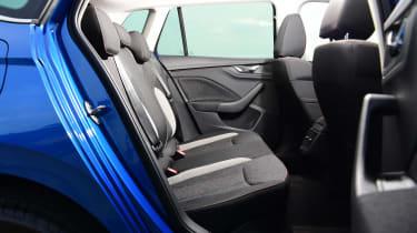 Skoda Kamiq SUV rear seats