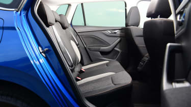 Skoda Kamiq SUV rear seats