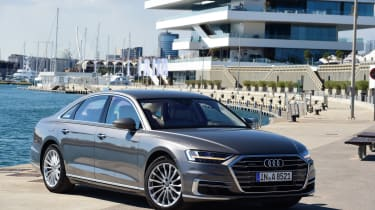 The latest Audi A8 is the most sophisticated saloon car in the company's illustrious history