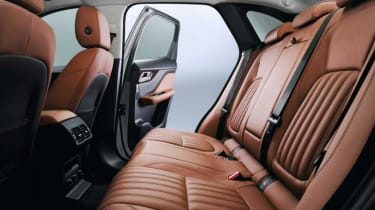 The rear doors open wide, allowing good access to the rear seats