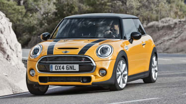 MINI hatchback 2014 front cornering