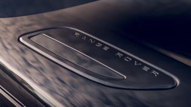 Range Rover Velar R-Dynamic Black bonnet vent