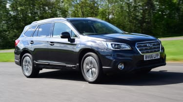 Subaru Outback  - front 3/4 view
