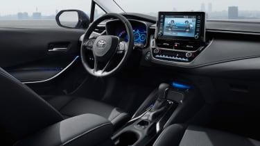 2019 Toyota Corolla Saloon interior