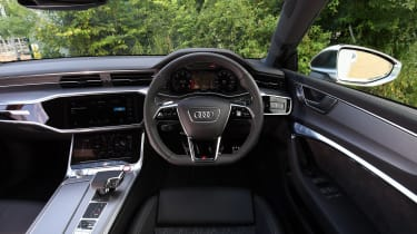 Audi S7 hatchback interior