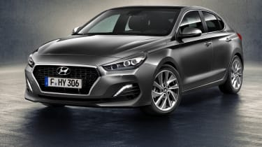 Hyundai is joining the five-door coupe market with the i30 Fastback