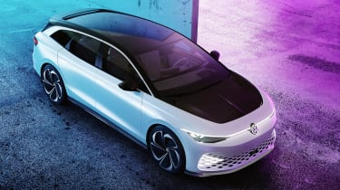 Volkswagen ID. Space Vizzion concept top view - static