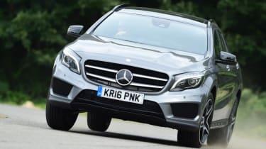 Mercedes-Benz GLA-Class AMG Line front cornering