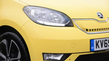 Skoda Citigo e iV hatchback headlights