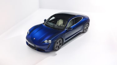 2020 Porsche Taycan - front 3/4 angled view