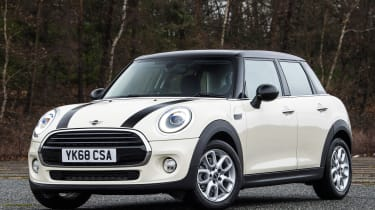 MINI 5-door hatchback front static