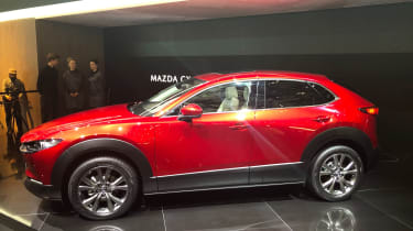 Mazda CX-30 SUV - Geneva - side