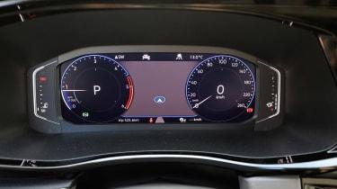 Volkswagen California digital instruments
