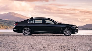 BMW 7 Series saloon - side on static