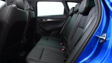 Skoda Karoq SUV rear seats
