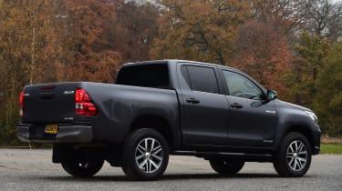 Toyota Hilux pickup rear 3/4 static