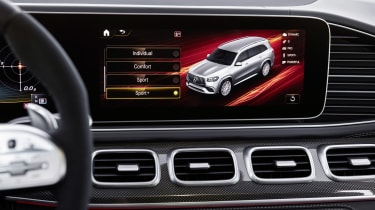 Mercedes-AMG GLS 63 infotainment screen