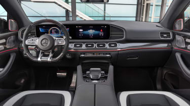 2020 Mercedes-AMG GLE 63 S Coupe interior