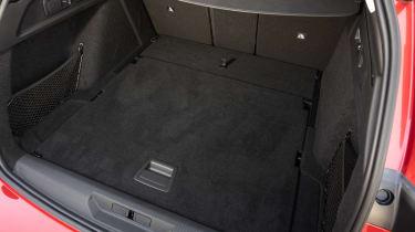Peugeot 308 SW estate boot overhead
