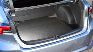 Toyota Corolla saloon boot