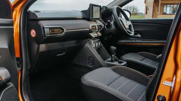 Dacia Sandero Stepway hatchback interior wide