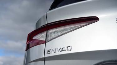 Skoda Enyaq iV SUV rear lights