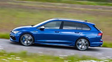 2021 Volkswagen Golf R Estate - passing