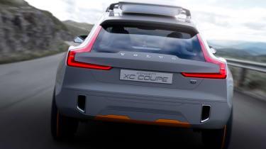 Volvo Concept XC Coupe rear