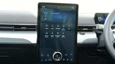 Ford Mustang Mach-E - infotainment screen