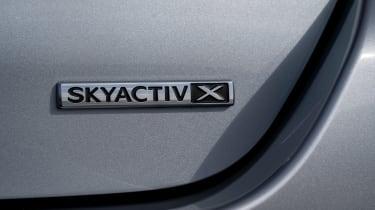 Mazda3 Fastback saloon tail