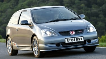 Not so much a hot hatch as an entirely new driving experience, the high-revving Civic Type R was an immediate hit