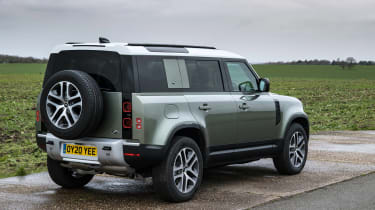 Land Rover Defender SUV rear 3/4 static