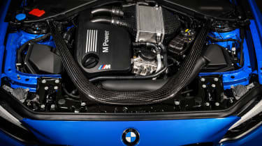 BMW M2 CS engine