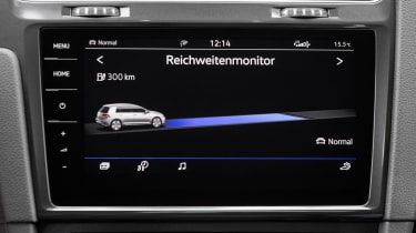 Volkswagen's latest 9.2-inch infotainment system is also fitted