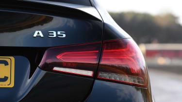 Mercedes-AMG A 35 Saloon rear badge