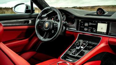 Porsche Panamera hatchback dashboard